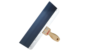 Blue steel Taping Knife with Wooden Handle