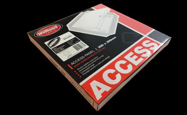 Wallboard Tools Metal Access Panel - Packaging