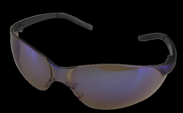 Safety Glasses Blue Mirror Lenses SafeCorp