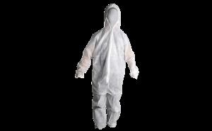 Disposable Coveralls White SafeCorp