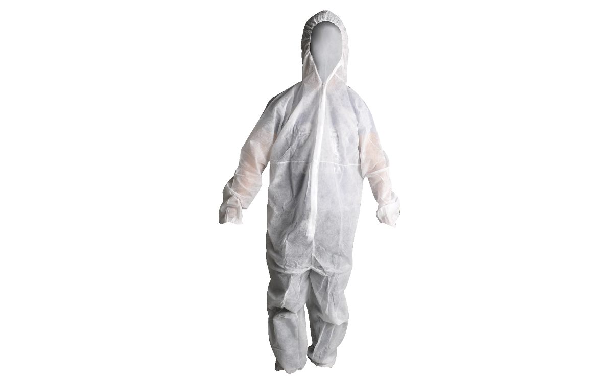 Disposable Coveralls White SafeCorp