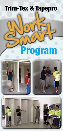 Tapepro & Trim-Tex Work Smart Training Program by Wallboard Tools