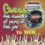 Guess the number of Pens - Win an Impact Driver!