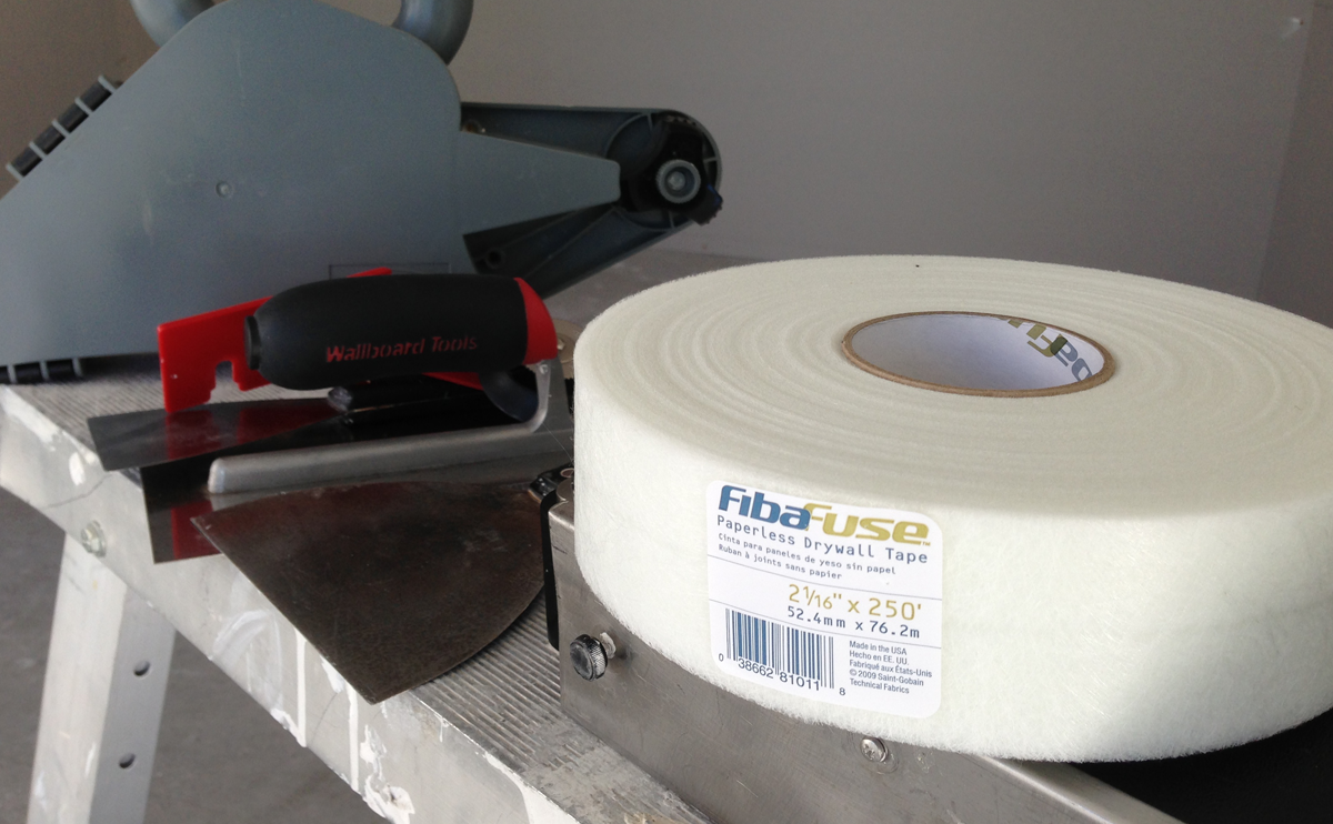 FibaFuse Paperless Plasterboard Joint Tape