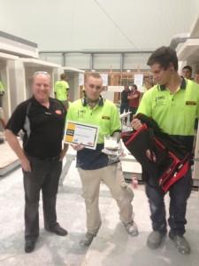 AWCI-Q Apprenticeship Challenge - Safety Prize Winners