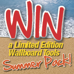 Win a Wallboard Tools Summer Pack