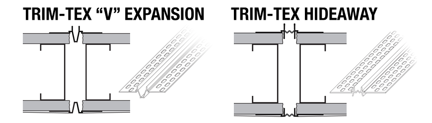 Trim-Tex Expansion Beads