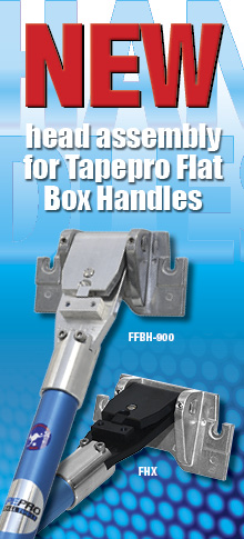 Change is in the air for the Tapepro Flat Box Handle range