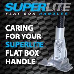 Caring for your SuperLite Flat Box Handle