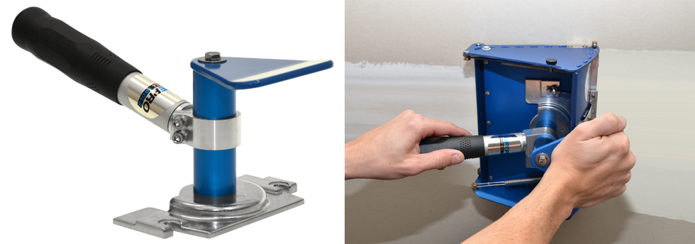 The Shorty Flat Box Handle from Tapepro Drywall Tools