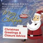 Christmas Greetings and Holiday Closure Times 2015