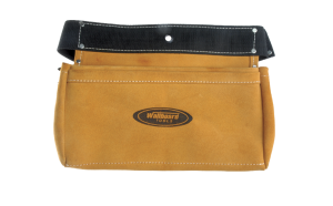 Wallboard Tools 2 pocket cow hide nail bag