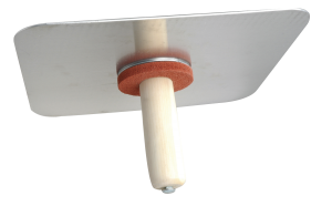 Wal-Board USA Plasterers Hawk with Wooden Handle
