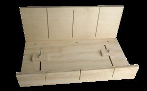 Large Adjustable Plywood Mitre Box