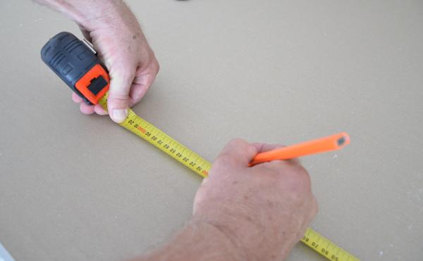 Wallboard 8m x 25mm Trade Tape Measure
