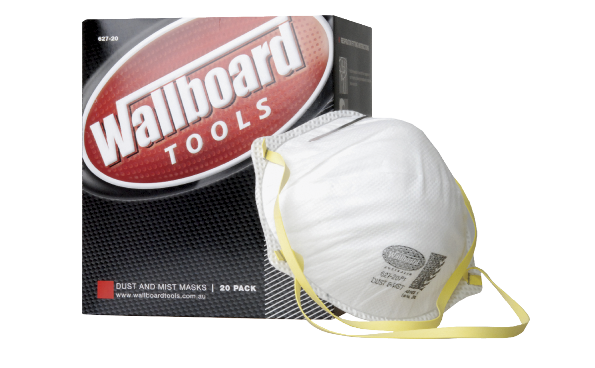 Wallboard P1 Disposable Dust Masks - Pack 20