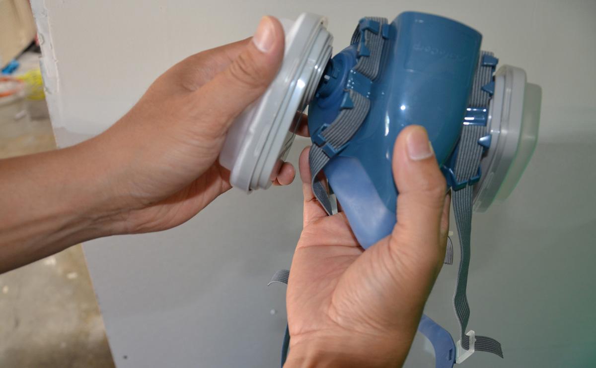 Respirator Mask Cartridge SafeCorp