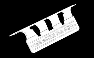 Trim-Tex 10mm Bullnose Mitre Marker