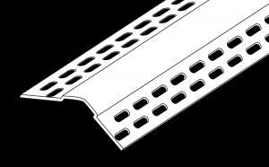 Trim-Tex 10mm Bullnose Splayed Corner Bead