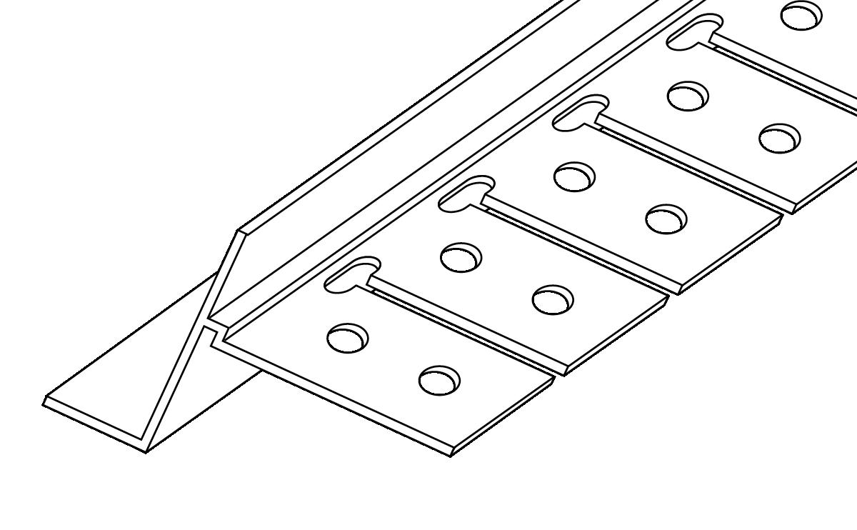 10mm Archway Shadow Bead Tear Away 3 0m Trim-Tex – Wallboard Tool