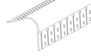 Trim-Tex 19mm Bullnose Archway Corner Bead