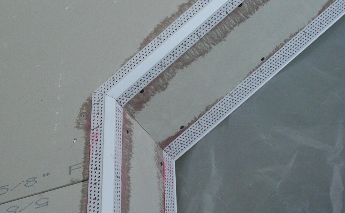 Corner Bead Trim : Mm chamfer º corner bead trim tex wallboard tool