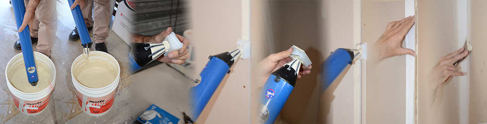The Flat Tear Away Applicator from Tapepro Drywall Tools