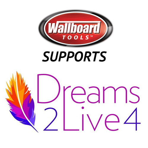 Wallboard Tools Supports: Dreams2Live4