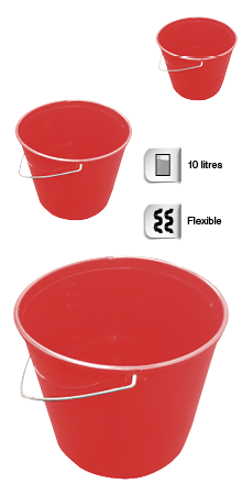 Wallboard Tools 10 litre flexible bucket