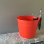 Back in Red: Wallboard's flexible 10L buckets