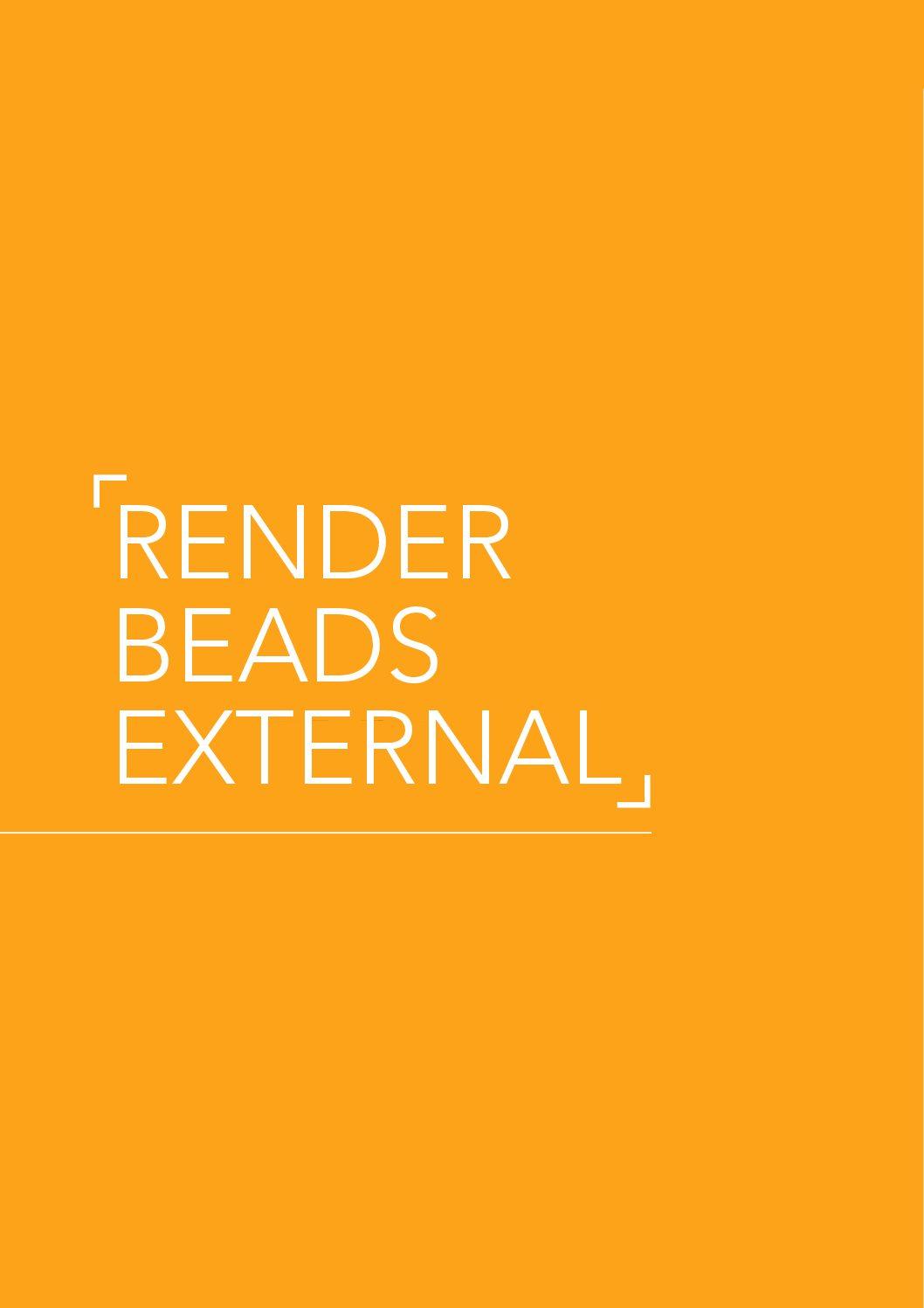 Render Beads External
