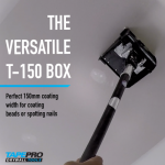 """NEW"" Tapepro             150mm Versatile Flat Box"