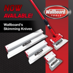 Wallboard's Skimming Knives Have Landed