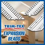 Factors that can cause cracking in plasterboard and using the correct Trim-Tex Expansion Bead.