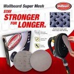 Expect nothing less than a superior finish with Wallboard Super Mesh