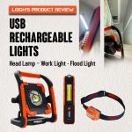 Leigh's USB Rechargeable LED Lights -  Product Review