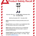 Product Safety Recall - SkyStrider Stilts