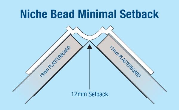Corner Bead Niche 3.0m Trim-Tex